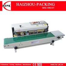 Automatic Continuous Plastic Film Packing Machine Tea Bag Sealing Machine Equipment Printing Date For Coffee Bag Sealer FR770