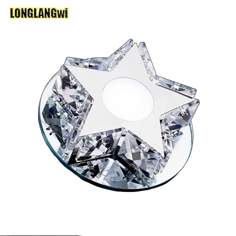 New Modern LED Crystal Ceiling Lights aisle lights the stars led corridor lights LIGHTING Free shipping Star Ceiling Lamps(China (Mainland))