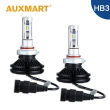 Auxmart HB3 9005 Car LED Headlight Kit 50W/Set CREE Chips Fog Light DIY 3000k 6500k 8000k Head Lamp Bulb Auto Lighting