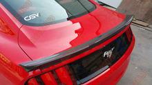 Fit for Ford Mustang ROUSH carbon fiber rear spoiler rear wing(China)