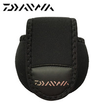 Buy Daiwa Fishing reel bag 12cm * 11cm Protector cover Casting reel Fishing Reel outdoor sport Bags Carp fishing black bag pesca Fishing Tackle Store) for $8.74 in AliExpress store