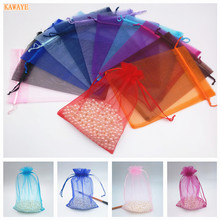 50pcs 11cmX16cm 20 Colors Chocolate Candy Bags Baby Bathing Bags Bags Party Accessories KAWAYE Wedding Gift Bags 6ZDZ33(China)