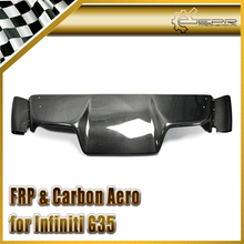 Car-styling For Nissan 2003-2008 Z33 350z Infiniti G35 Coupe 2D JDM Carbon Fiber TS Style Rear Diffuser 6pcs (with fitting)