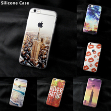MISSCASE Phone Case For iPhone 6 6s plus 5 5S SE Empire State Building TPU Soft Silicone Cover Cases for iphone 5c 4 4s 6 Cases(China)
