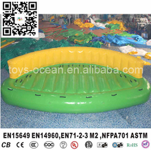 Summer hot selling inflatable water sport Crazy UFO/Inflatable Carzy Sofa /fly fishing tude