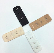 Ladies  1 Hook Bra Strap Extender hook clip perfect Nude ADJUSTABLE BELT buckle multi color available wholesale