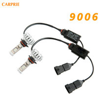120W 12000LM 9006 LED Lamp Headlight Kit Car Beam Bulbs 6000k White Canbus CREE Chips Car Electronics Accessories(China)