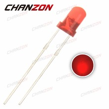 CHANZON 100pcs Mini LED Diode 3mm Red Color Diffused Round DIP 3 mm DC 2V 20mA Light-Emitting Diode LED Lamp Light Components(China)