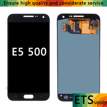 Can Adjust Brghtness OLED LCD Screen Replacement Samsung Galaxy E5 E500 E500F E500H E500M LCDS Touch Digitizer Assembly
