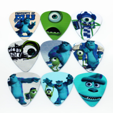 10pcs Good Cheapest Band Guitar Picks Custom Logo Guitar Picks Monster University 1S1-14(China)