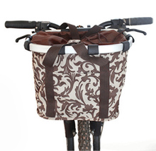 High Quality Aluminum Mountain Bike Basket Quick-disassembly Bicycle Pet Carrier Bag Bicycle Basket For Dogs And Cats
