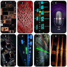 DJ Radio Old Black Plastic Case Cover Shell for iPhone Apple 4 4s 5 5s SE 5c 6 6s 7 Plus(China)