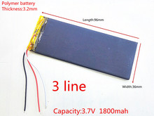 RNEW 323696 XWD 323696P 323696 3.8V 1800MAH battery li-Lion for china clone MTK phone goophone I6 6S IP6