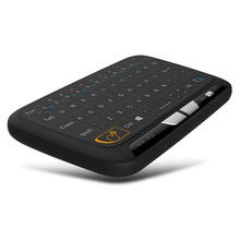Portable NEW Mini H18 Wireless Keyboard 2.4 G Keyboard With Touchpad Mouse for Windows Android/Google/Smart TV Linux Windows Mac(China)
