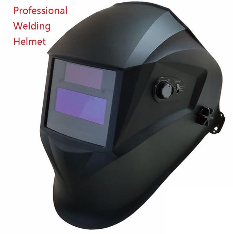 Professional Welding Helmet Welding Mask 95*36mm 1211 Filter Welder Hat Solar Auto Darkening MIG TIG Grinding 4/9-13 CE UL CSA<br><br>Aliexpress