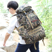 Buy 80L Camouflage Mountaineering Bags Outdoor Camping Hiking Trekking Large Tactical Military Backpack Waterproof Hiking Backpacks for $26.34 in AliExpress store