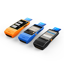 high speed 4G wireless payment terminal rugged pda with mobile printer