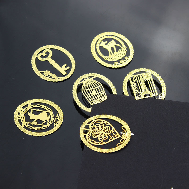 Kawaii Gold Metal Bookmark Fashion Birdcage Clips for Books Paper Creative Products Office Supplies 1pcs<br><br>Aliexpress