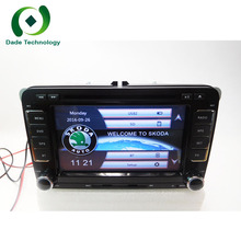 Double Din 7 inch Car GPS Radio DVD Player For Skoda VW Seat Universal 2din car stereo audio GPS Navigation FM 1080 P Ipod Map