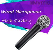 High Quality Wired Dynamic Cardioid Professional Microphone Vocal Karaoke Handheld Microfone Mike Mic