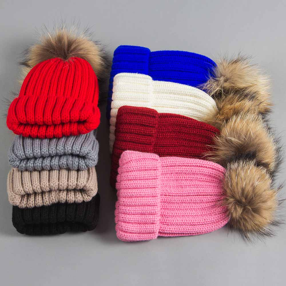 beanies with pompom thick (5)