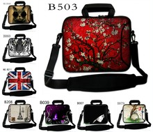 "10"" Laptop Shoulder Bag Sleeve Case Cover For 10.1"" Acer Aspire One Notebook New /10.1"" Dell Mini 9 10/HP Mini 110(China)"