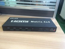 4K*2K 1.4V HDMI Matrix 4X4 3D Full HDMI Switcher With IR Remote Control Support RS232 Control and Update