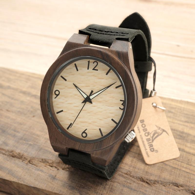 BOBO BIRD B11 Mens Wood Bamboo Wristwatch Simple Unique Design Men Top Brand Wooden Bamboo Wrist Watches<br><br>Aliexpress