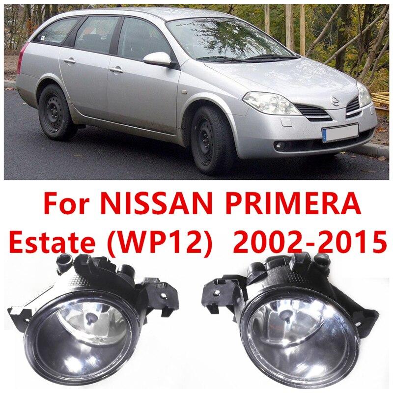 For NISSAN PRIMERA Estate (WP12)  2002-2015 Fog Lamps Lights Front bumper lamp B6A508990A  261508990A  4419375<br><br>Aliexpress