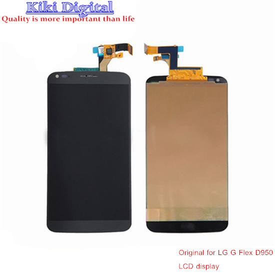 100% Guarantee Original LCD Display with Touch Screen Digitizer For LG G Flex D950 D958 D955 LS995 F340 Free Shipping<br><br>Aliexpress