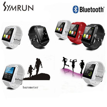 Symrun Luxury Bluetooth Obangle Fitness Smart Watch Bracelet U8 Wrist Watch Suppor Android Mobile Phone cheap smart watch