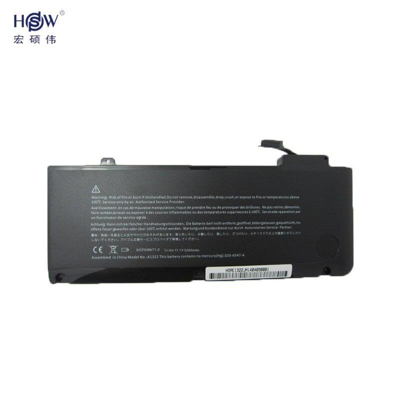laptop battery for APPLE A1278 (Mid 2009 Mid 2010 Early 2011) MB991LL/A MC374LL/A MC375LL/A A1322 bateria akku<br>