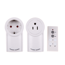 1 Pack US 120V/60Hz EU 230V/50Hz 10A Remote Control Wireless Power Outlets Light Switch Socket(China)
