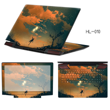 Latest Laptop Sticker Customize PVC Skins Dustproof Notebook Decal Case ABC Sides+Keys+Key Interstice Stickers For Acer S7-391