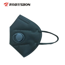 ROBESBON 500pcs/lot Pm2.5 N95 Breathing valve antifogging Dustproof mask Non-woven fabric Windproof Mouth-muffle Flu Face mask