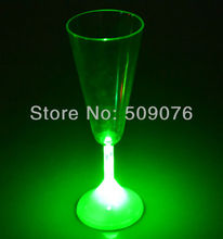 Free shipping 10pcs/lot 175ML/6OZ 21.5*7.4cm 8mode blinking cola cups flashing cup led flashing shot glasses for chirstmas