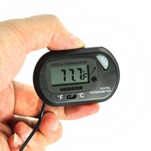 C/F unit switch digital Fish tank aquarium thermometer with Strong sucker(China)