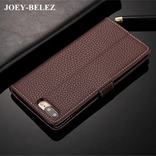 JOEY-BELEZ Luxury Leather Flip Case for iPhone 6s plus Wallet Soft Cover for iPhone X 6s plus 7 8 plus Phone Case Hoesje Coque(China)