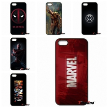 For Xiaomi Redmi Note 2 3 3S 4 Pro Mi4i Mi4C Mi5S Mi MAX iPod Touch 4 5 6 Amazing Marvel Avengers Logo Poster Phone Case Cover