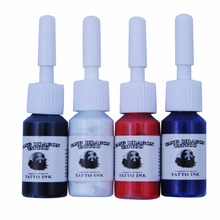 4 Colors/Bottles Tattoo Ink Pigment Set Kits for  Tattoo 5ml Professional Beauty Permanent Makesup Paints