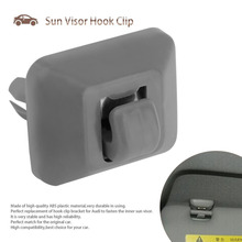 HSC Durable Inner Sun Visor Hook Clip Bracket Fixing Clip Perfect Replacement Of Hook Clip Bracket Fit For Audi A3 A4L A5 Q3 Q5