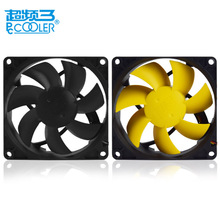 Pccooler 9cm/90mm computer pc case fan quiet 9025 pc chassis fan 3pin and Type D CPU cooling fan silent removable and washable(China)