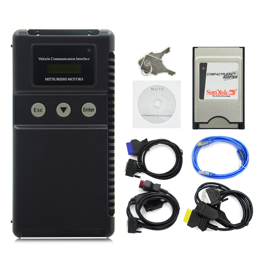 new blue cable for mitsubishi MUTIII car diagnostic tool