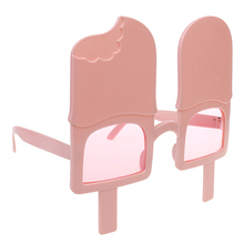 New Hot Novelty Ice Pop Lolly Sunglasses Fancy Dress Costume Party Glasses Shade for Hen Night Stag Party Supplies Home Decor