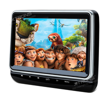 "10.1"" Car Headrest DVD Player Pillow Monitor 1024*600 HDMI HD Screen Game Portable PC Audio Touch Button USB SD IR FM CD Media"