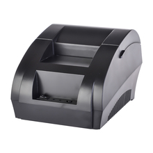 ZJ - 5890K Portable 58mm Receipt Thermal Printer USB POS Mini 58 Thermal Receipt Ticket Pos Portable Laser Printers