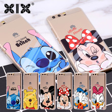 For fundas Huawei P9 lite case Kiss cover for Huawei P8 lite case 2017 fashion for Huawei P10 Plus Honor 6A 6X 8 Nova 2 Mate 9