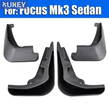 Set of Mud Flaps For 2011-2016 Ford Focus 3 MK3 4Dr Sedan Front Rear Mud Flap Mud Splash Guards 2015 2014 2013 2012 Accessories