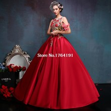 Custom made Sexy Red Floral Embroidery Stage Singer Performance Dresses High Quality Hostl Solo Belle Ball