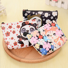 Women Small Storage Bags for Key Card Phone Coin Purse Practical Pu Daily Little Bags Travel Accessories pouch